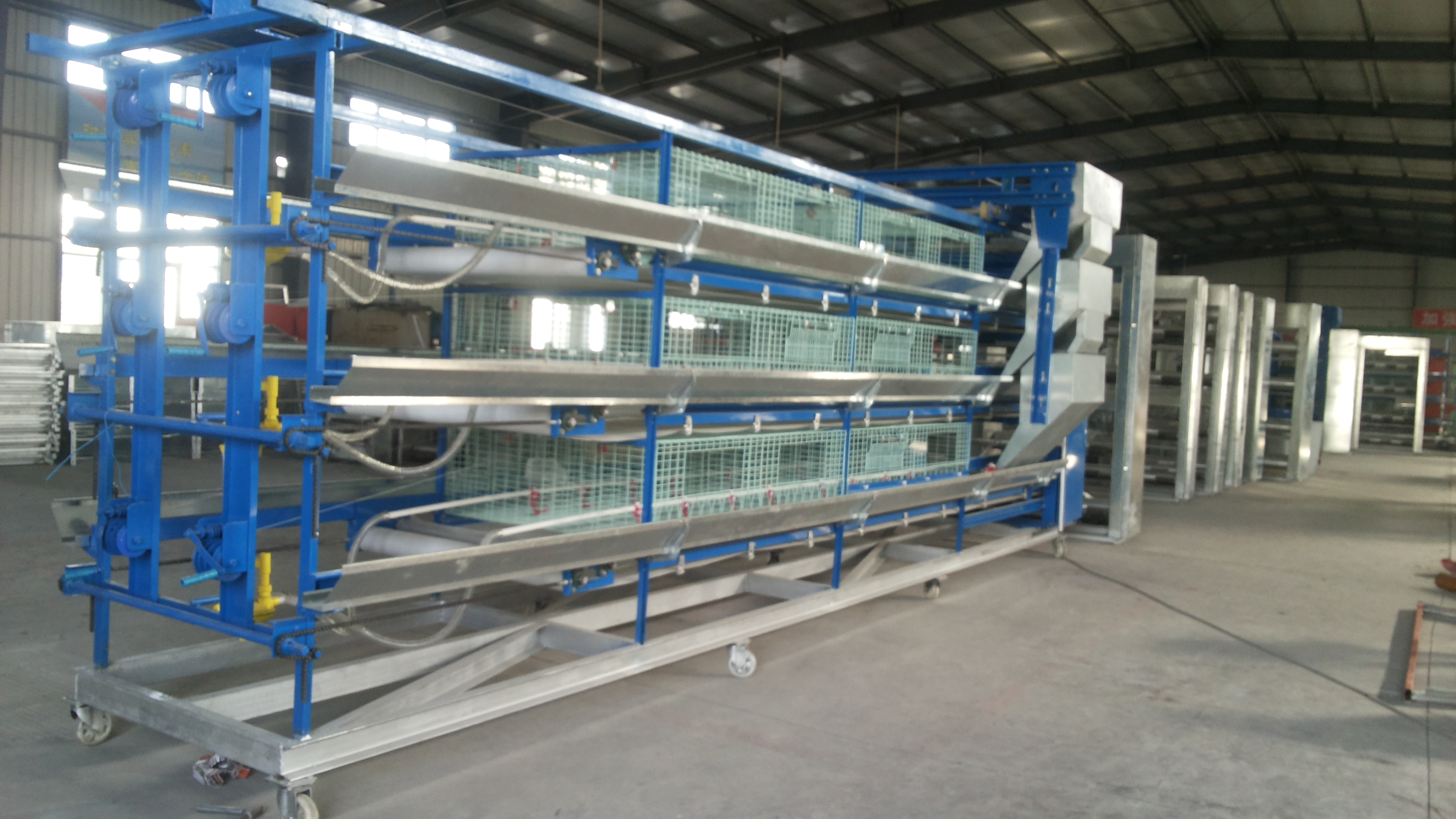 chicken cage system manufacturing