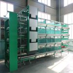 Fully automatic poultry farming feeding equipment is used in poultry farms